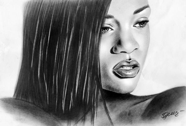 Rihanna by cherrysam